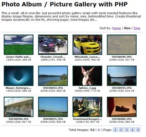 This is a all-in-one-file small and powerful image gallery script with ...: www.cafewebmaster.com/photo-album-picture-gallery-script-php